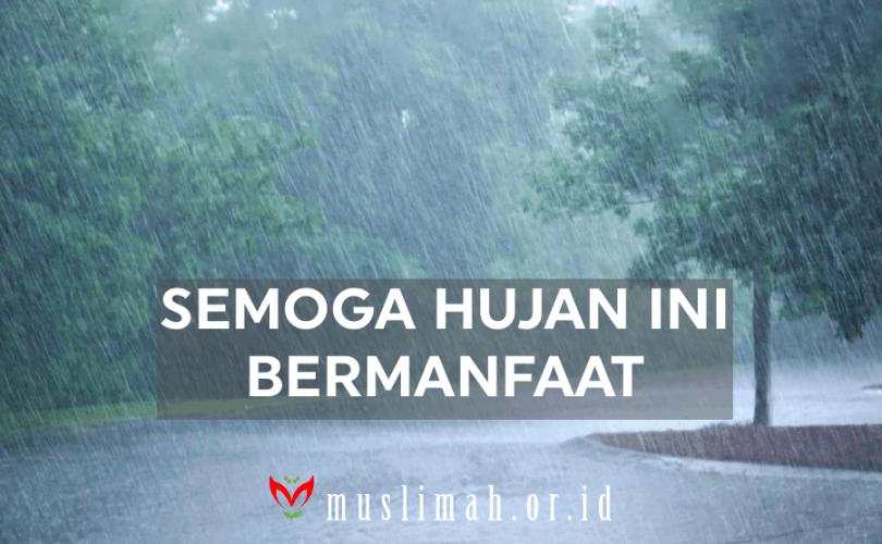 Kata Kata Hujan Di Pagi Hari Islami