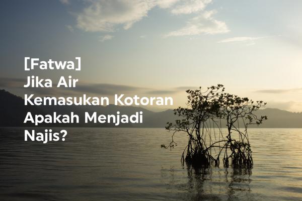 Fatwa: Jika Air Kemasukan Kotoran Apakah Menjadi Najis?