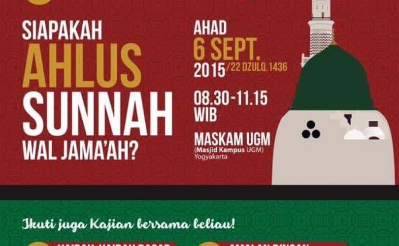 Kajian Umum Bersama Ustadz Badrusalam Lc (Yogyakarta, 4-6 September 2105)